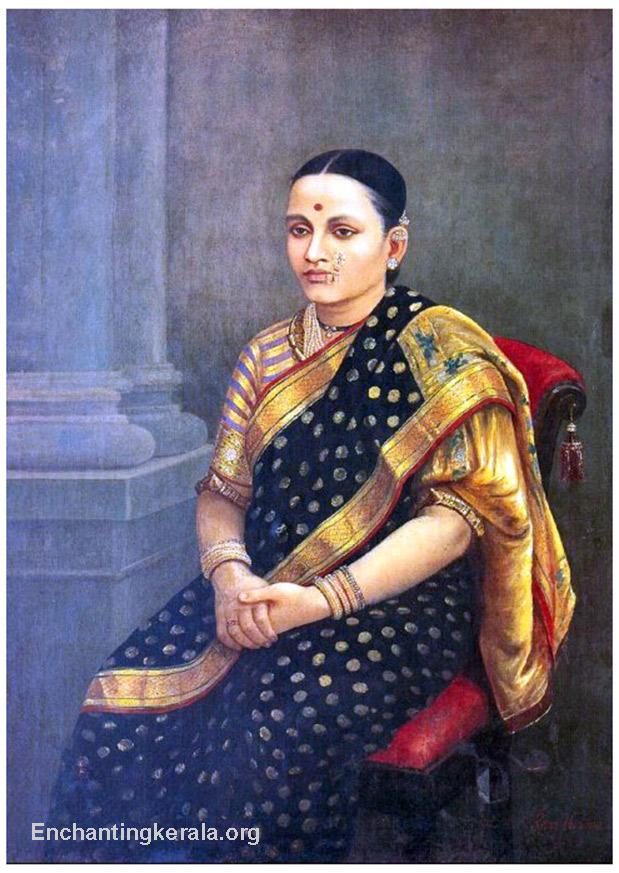raja_ravi_varma_oil_painting_portrait_lady