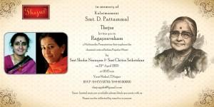 Invite For Ragapravaham